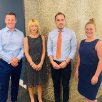 Brian Wright, Lucie Flint, Dan Bennett and Jane Haskell. We are delighted to work with Humberts Estate Agents