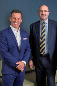 Brian with Jonathan Hammond of Hammond Property Services